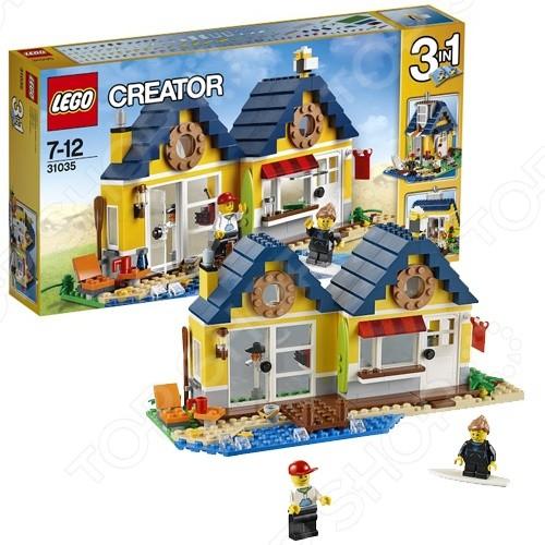 Конструктор - Lego - Домик на пляже