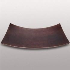 Декоративная тарелка из бамбука