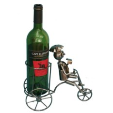 Подставка под бутылку Повар на велосипеде
