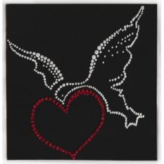 Картина с кристаллами Сваровски Птица счастья