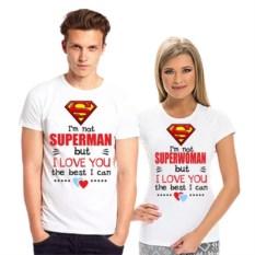 Парные футболки Superman, superwoman