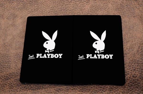 Обложка на паспорт из кожи Промо - Just Playboy