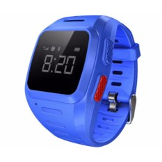Синие часы-телефон с gps для детей от Wochi