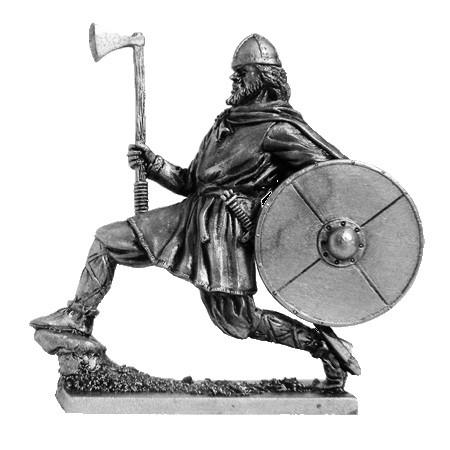Оловянный солдатик Викинг с топором, 9-10 вв.