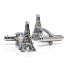 Запонки Эйфелева башня