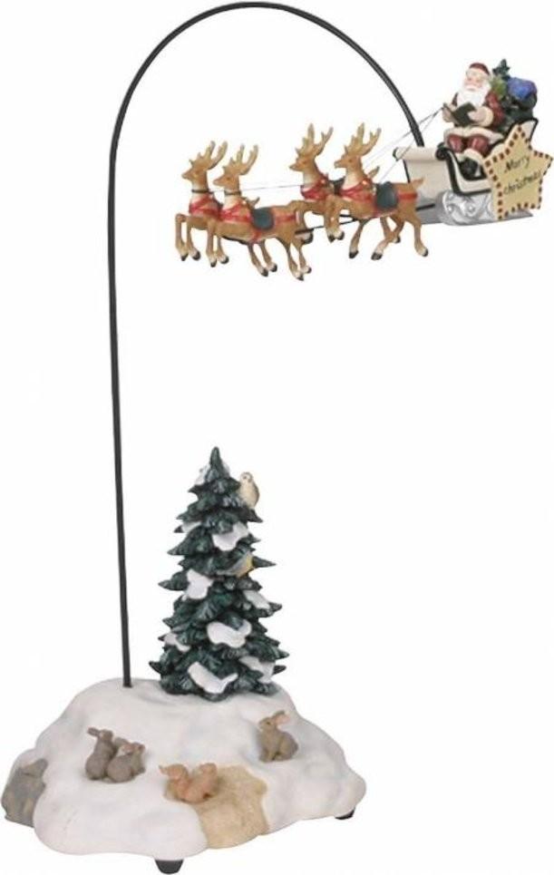 Новогодний сувенир «Дед Мороз на оленях» от Luville