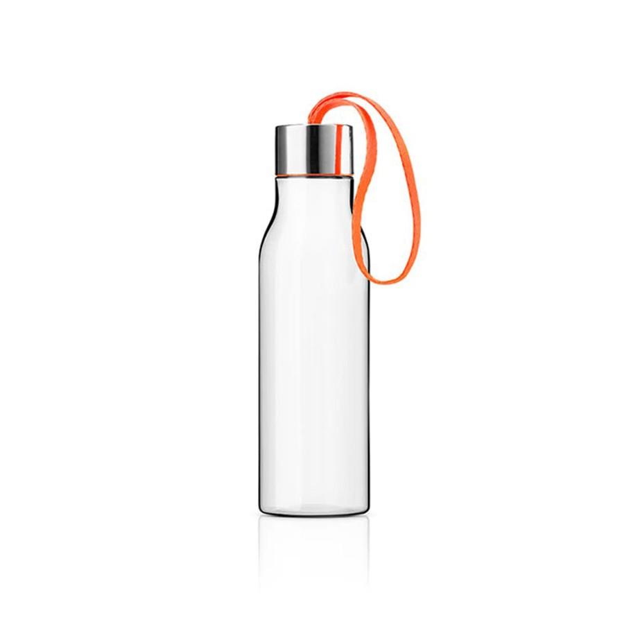 Оранжевая спортивная бутылка