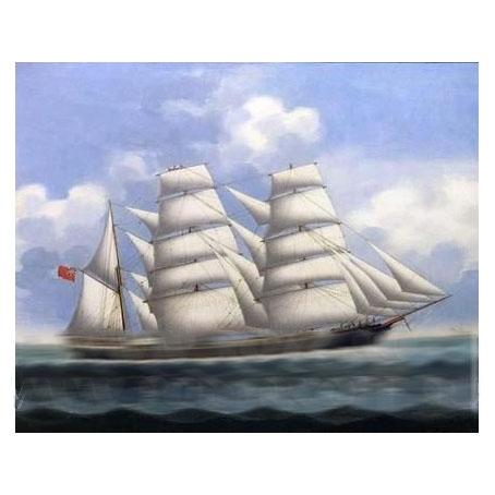 Репродукция «Корабль»