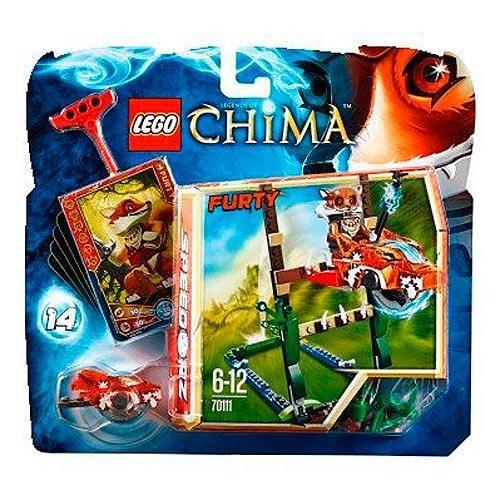 Конструктор LEGO Legends of Сhima Прыжки по болотам