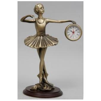 Часы-фигура из бронзы Virtus «Балерина»