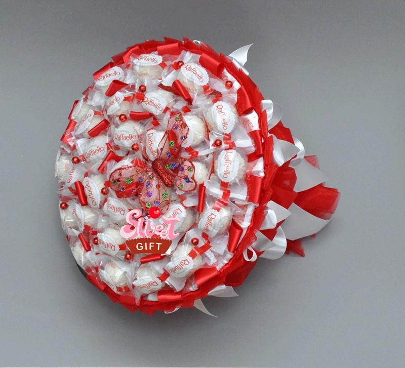 Букет из конфет С любовью