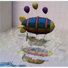 Живая раскраска 3D Малышам
