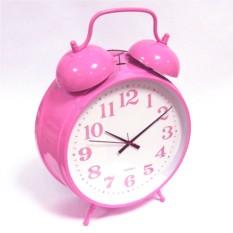 Розовый мега-будильник