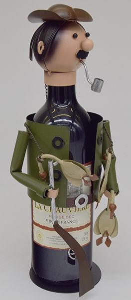 Декор бутылки Охотник