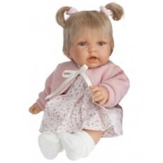Кукла-малыш с озвучиванием Элис в розовом