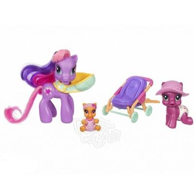 Игровой набор My Little Pony Малышки Пони и Мама