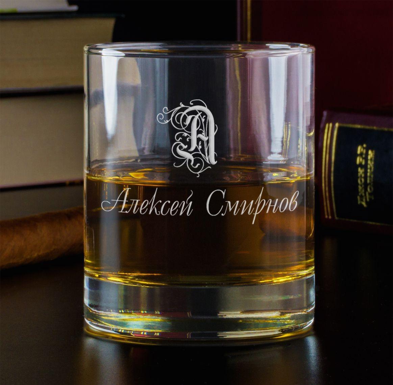 Бокал для виски Именной
