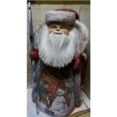 Игрушка Дед Мороз из дерева, высота 40 см