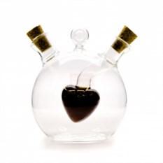 Бутыль для соусов и масла Сердце