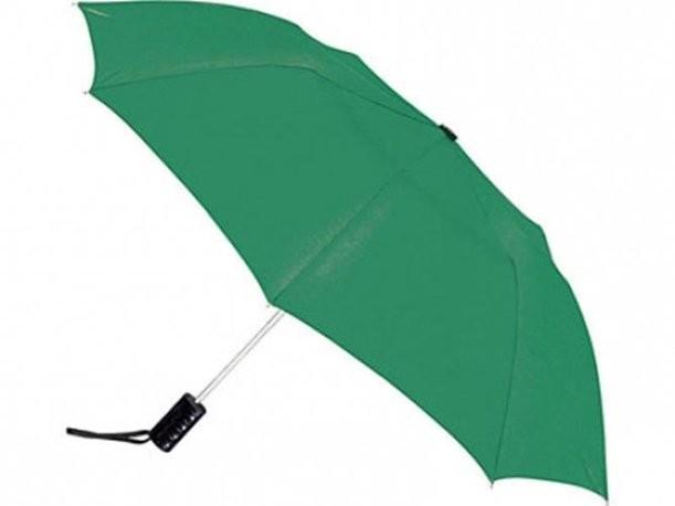Полуавтоматический зеленый зонт