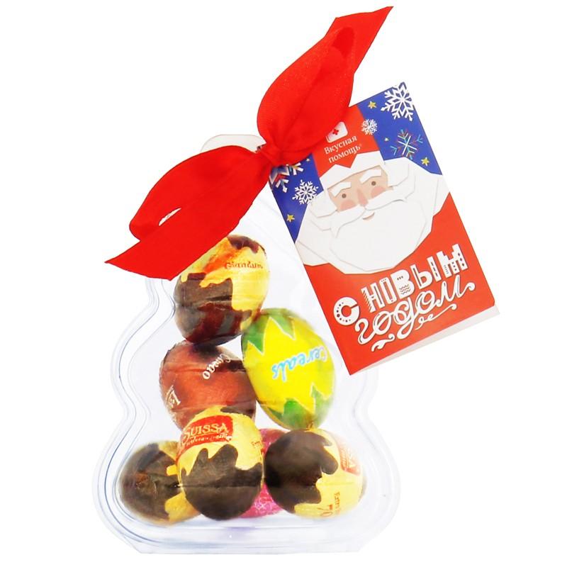 Сладкое елочное украшение «Шоколадное ассорти»