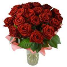 Букет цветов Алый закат