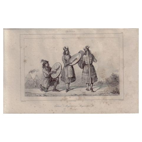 Гравюра «Татарские обряды»