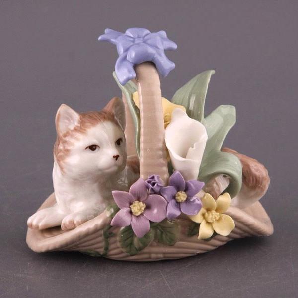Фигурка Кошка в шляпке