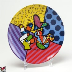 Тарелка Britto Disney, коллекция Peace & Love