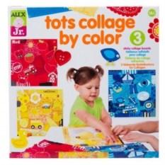 Набор для творчества малышей Первые цветовые коллажи