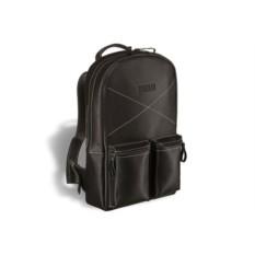 Черный кожаный рюкзак Brialdi Bismark