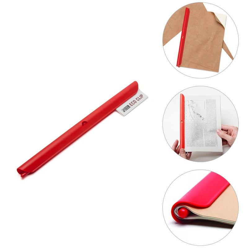 Красная клипса Eco clip