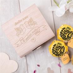 Подарочный набор мёда Сладкая любовь
