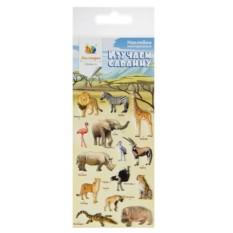 Наклейки для гаджета Животные саванны (Липляндия)