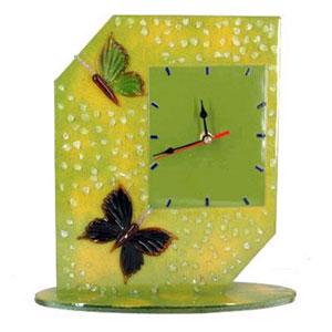 Часы настольные «Бабочки»