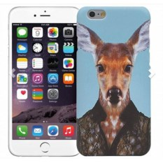 Чехол для iPhone 5/5s, 6/6s Олень в костюме
