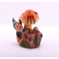Декоративный фонтан Гномик и грибочек