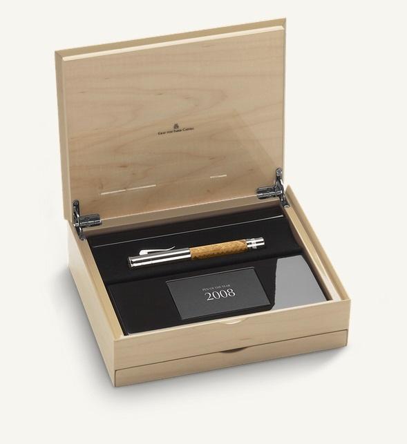 Перьевая ручка M Graf von faber-castell pen of the year 2008