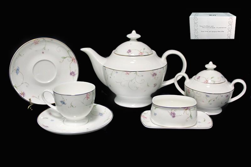 Чайный сервиз Английский сад из 18 предметов