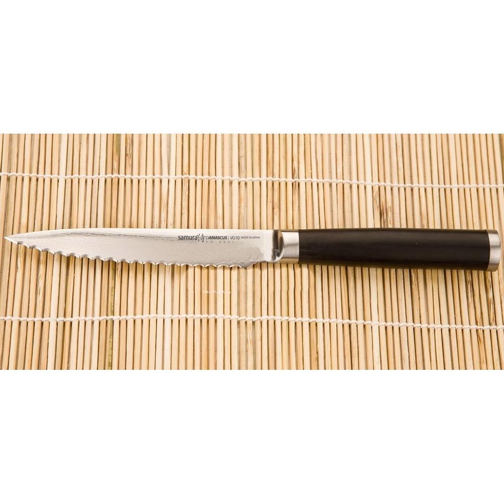 Нож поварской кухонный для томатов Samura Damascus