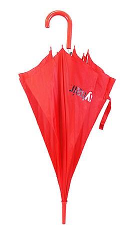 Зонт-трость красный (Sexy Hair)