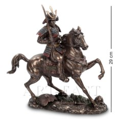Статуэтка Самурай на коне (цвет: бронзовый)