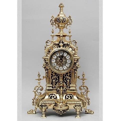 Часы каминные бронзовые с кубком