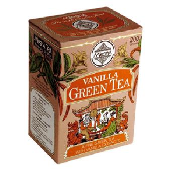 Чай зеленый с ароматом ванили