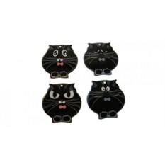 Подставка под горячее Чёрный кот