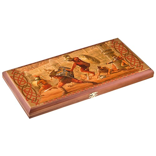 Подарочные деревянные нарды «Гладиатор»