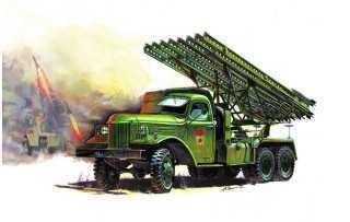 Модель БМ-13 Катюша