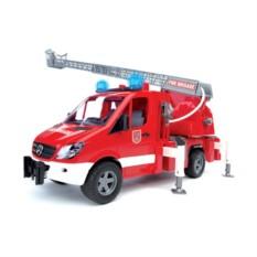 Озвученная модель Bruder Пожарная машина с модулем
