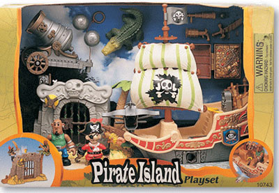 Игровой набор «Пиратский остров IV»
