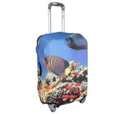 Большой чехол для чемодана Рыбы
